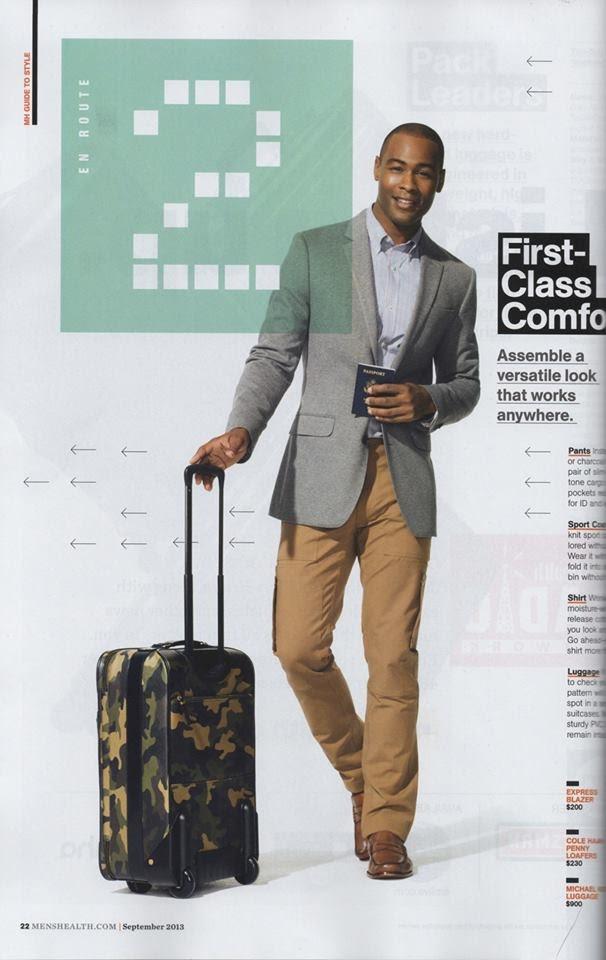 Major Model : JUSTIN M. na edição de Setembro da MEN'S HEALTH  por TAGHI NADERZAD