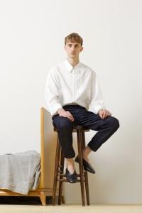 Major Model : MARKO B.  em lookbook para Christophe Lemaire Primavera/Verão 2014 3