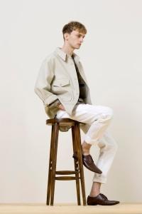 Major Model : MARKO B.  em lookbook para Christophe Lemaire Primavera/Verão 2014 5