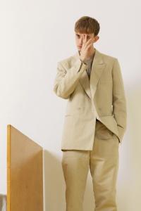 Major Model : MARKO B.  em lookbook para Christophe Lemaire Primavera/Verão 2014 6