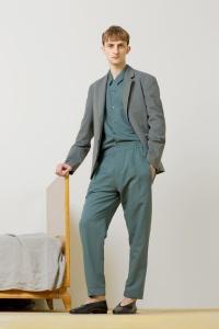 Major Model : MARKO B.  em lookbook para Christophe Lemaire Primavera/Verão 2014 7