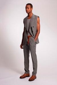 Major Model Conrad Bromfield for Michael Kors Menswear S-S 2014 1