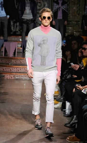 MAJOR MODEL MEN FOR RICARDO SECO F/W 2014 4 MAJOR MODEL MEN FOR RICARDO SECO F/W 2014