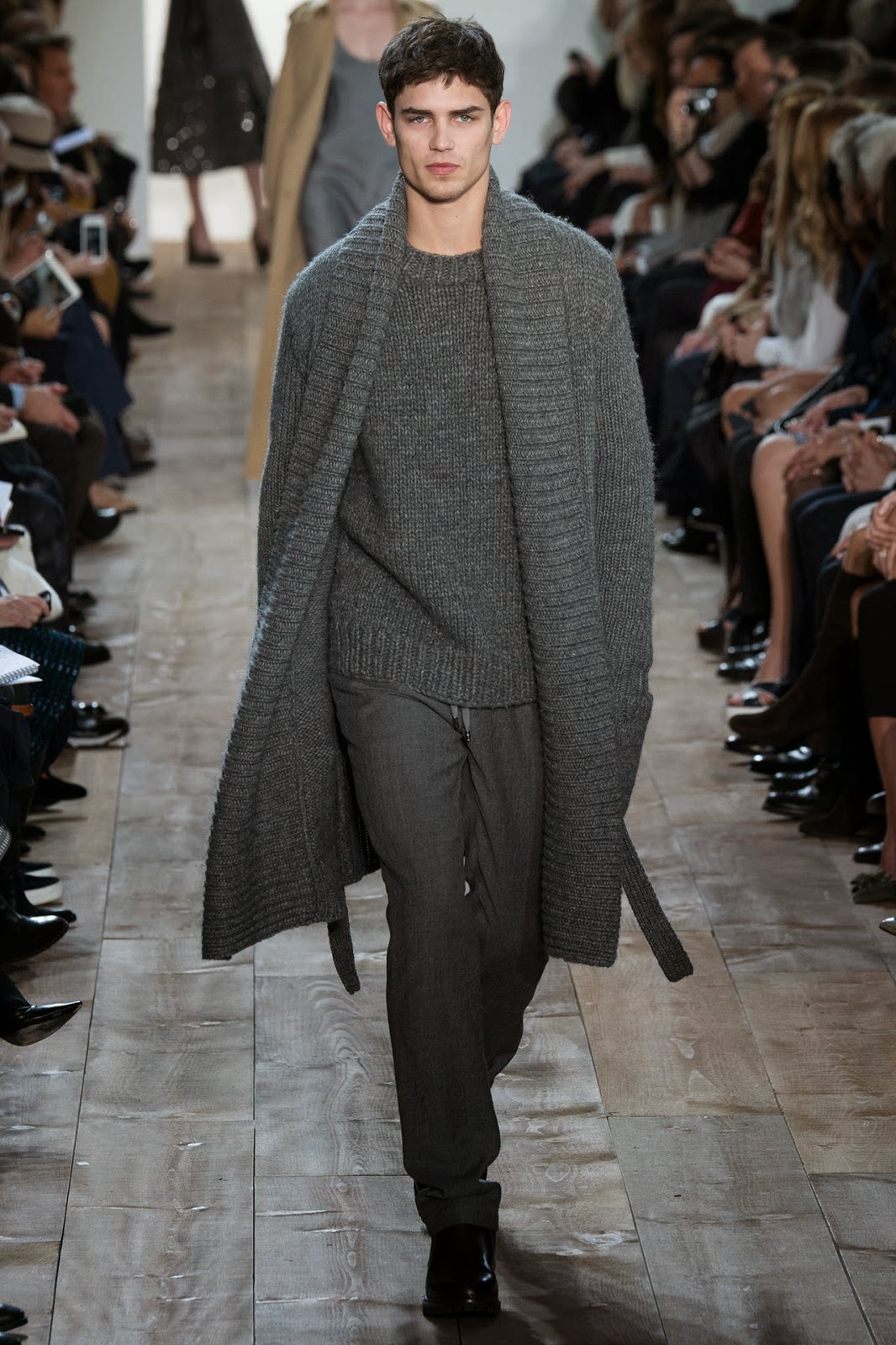 ARTHUR G. (MAJOR MODEL) para Michael Kors Fall/Winter 14-15 1 ARTHUR G. (MAJOR MODEL) para Michael Kors Fall/Winter 14-15
