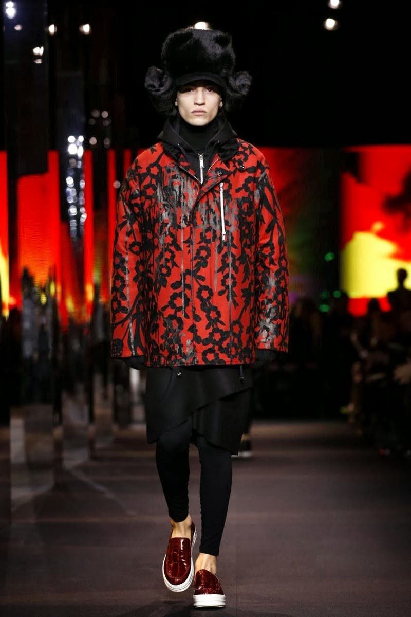 ERIC S. (MAJOR MODEL MANAGEMENT)  PARA Moncler Gamme Rouge Fall/Winter 14-15 1 ERIC S. (MAJOR MODEL MANAGEMENT)  PARA Moncler Gamme Rouge Fall/Winter 14-15