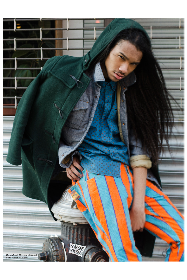 JORDUN L. (MAJOR MODEL MANAGEMENT) PARA ARTSY MAGAZINE 2 JORDUN L. (MAJOR MODEL MANAGEMENT) PARA ARTSY MAGAZINE