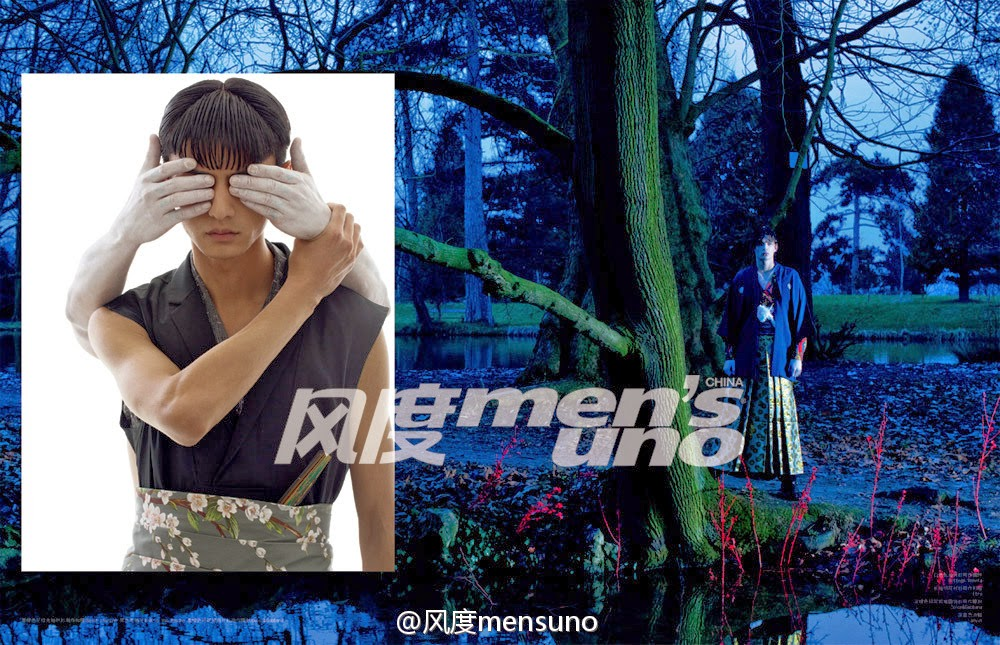 LIU C. (MAJOR MODEL) para Men's Uno International by Jumbo Tsui 2 LIU C. (MAJOR MODEL) para Men's Uno International by Jumbo Tsui