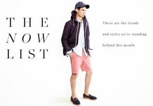 ARTHUR GOSSE for J_ Crew The Now List 1