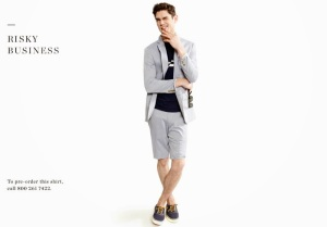 ARTHUR GOSSE for J_ Crew The Now List 2