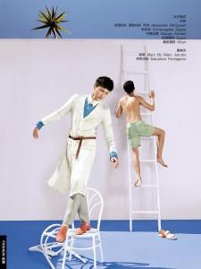 RUI WANG for GQ China by Guo Puyuan 2