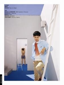 RUI WANG for GQ China by Guo Puyuan 3