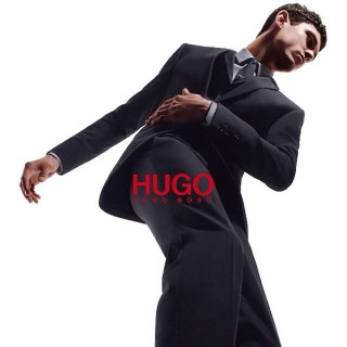 Major Model Arthur G para campanha Mundial de Hugo by Hugo Boss